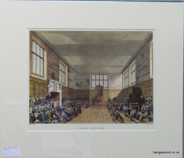 Harrow School - The old School Room - Har 6